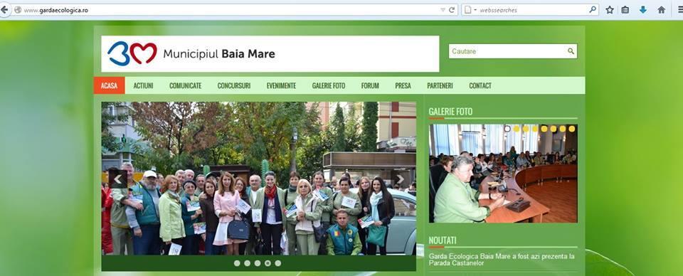 Garda Ecologica a Municipiului Baia Mare a lansat site-ul ecologic pentru promovarea culturii ecologice intr-un oras verde