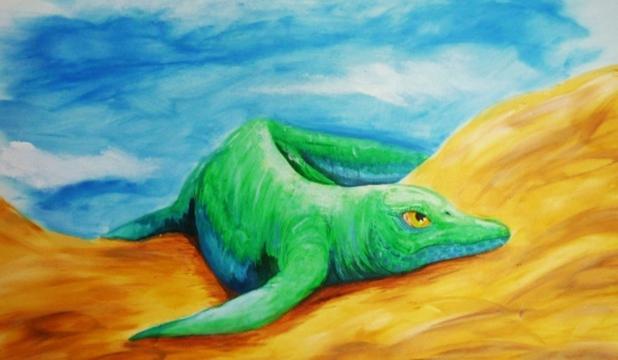 """A fost descoperit? o reptil? marin? preistoric? din vremea dinozaurilor - """"veriga lips?"""" în evolu?ia acestor animale"""