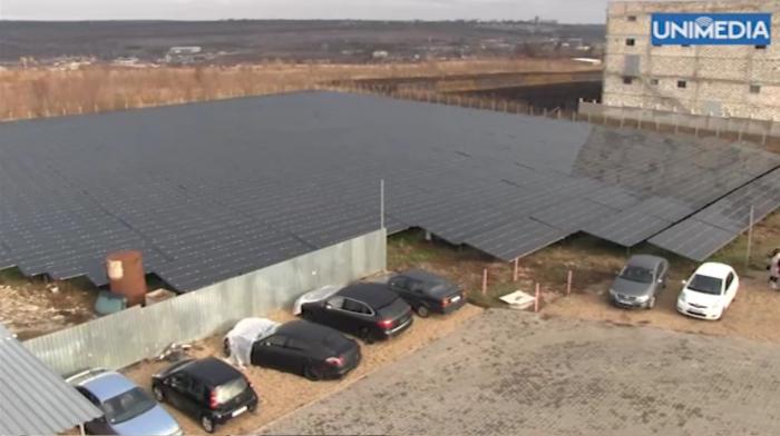 """Moldova Eco-Energetic?"". Cum arat? cel mai mare parc solar fotovoltaic din Moldova"