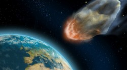S-a descoperit un asteroid urias, care ar putea lovi Pamantul