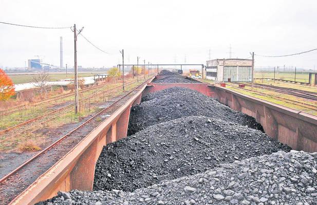 Producţia de cărbune a scăzut cu 7%, iar importurile s-au redus cu 18%