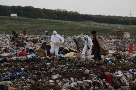 Construcţia depozitului ecologic de la Ciocăneşti se află în desfăşurare