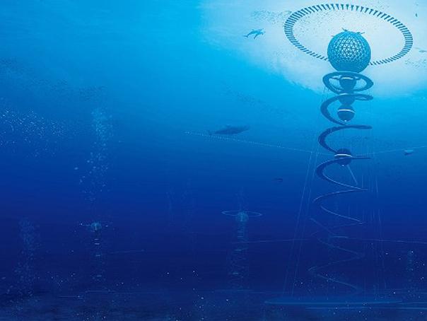 """Oraşul subacvatic: Cum va arăta """"Spirala oceanului"""""""