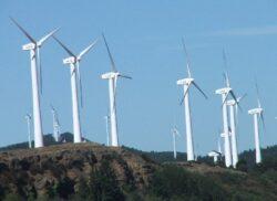 Turbinele eoliene din statiunea Paltinis, Sibiu