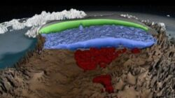 Cum arata calota glaciara din Groenlanda. Cercetatorii au realizat prima harta 3D