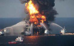 """Oamenii de ştiinţă au descoperit o """"pată"""" de zece milioane de galoane de petrol pe fundul oceanului, în zona Golfului Mexic"""
