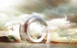 Eoliana viitorului: olandezii au inventat o turbina SF, fara pale, care produce energie din miscarea picaturilor de apa printr-un camp electric