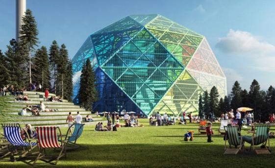 Suedia vrea să construiască o centrală cu biomasă sub forma unui diamant curcubeu