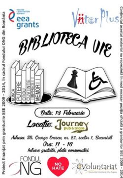 Te invitam la Biblioteca vie