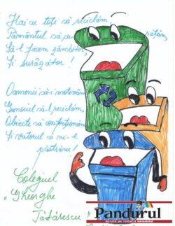 Liceul din Rovinari provoaca tinerii la un concurs de reciclare