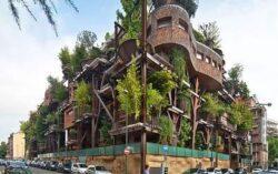 Cladirea-copac atenueaza zgomotul strazii si reduce poluarea
