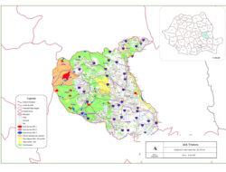 Harta riscurilor cu taierile ilegale din padurile Vrancei