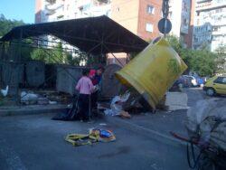 Gunoiul reciclabil se fura ca-n codru la Brasov