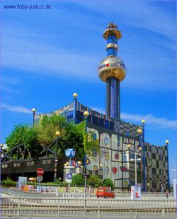 Frumos, artistic si aparent 'curat' – incinerator de deseuri municipale in Viena