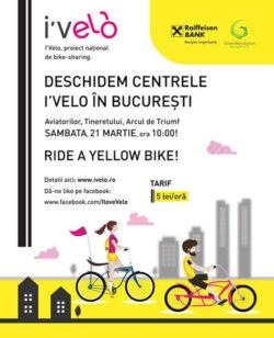 Se redeschid centrele de inchiriat biciclete din Bucuresti