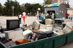 Campanie de colectare de deseuri electrice la Valenii de Munte