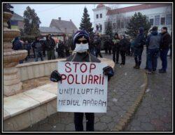 O alta forma de protest! Duminica, la Sebes, dezbatere publica pe tema poluarii din zona Sebes -Alba