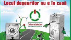 Actiune de colectare a deseurilor electrice si electronice in Radauti Prut si Paltinis, judetul Botosani