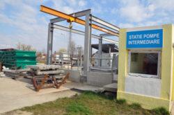 Statia de epurare a municipiului Targu-Jiu asteapta sa fie data in folosinta