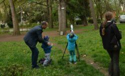 Activitati ornitologice pentru copii si tur de observare a pasarilor de Ziua Pasarilor la Cluj