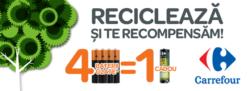 Carrefour relanseaza programul de colectare a bateriilor uzate – Recicleaza si te recompensam!