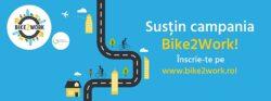 Bike2Work - Hai la munca cu bicicleta! - O campanie a Asociatiei Green Revolution alaturi de organizatii din alte 11 state europene