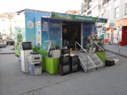 Actiune de colectare a deseurilor electrice, electronice, electrocasnice in Iasi