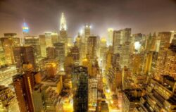 New Yorkul stinge lumina pe timpul noptii, ca sa protejeze pasarile migratoare