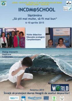 """Deșeurile marine, tematica săptămânii """"Școala Altfel 2015"""""""