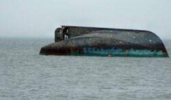 Alerta de poluare in Oceanul Pacific: O nava care transporta 180 de tone de substante toxice s-a scufundat