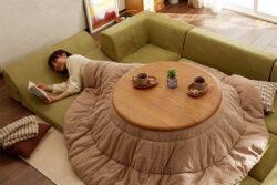 Kotatsu - solutia ingenioasa a japonezilor pentru se incalzi iarna
