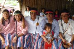 Tribul Achuar din Amazon isi cere drepturile la o viata libera.