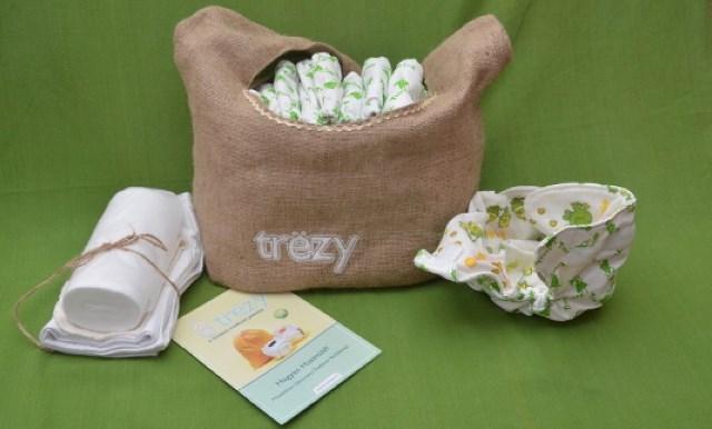 Scutece Trezy, produse în România